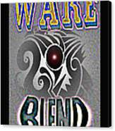 Wake Blend Product Design Canvas Print by George  Page