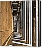 Walhalla Colonnade ... Canvas Print by Juergen Weiss
