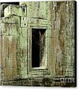 Wall Ta Prohm Canvas Print by Bob Christopher