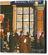 War News Christmas 1940 Canvas Print by Padre Art