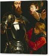 Warrior  Canvas Print by Peter Paul Rubens