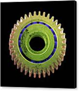 Watch Cog, Sem Canvas Print by Steve Gschmeissner