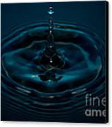 Water Drop No.11 Canvas Print by Nadya Ost