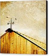 Weathervane Canvas Print by Joan McCool