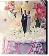 Wedding Cake Canvas Print by Garry Gay