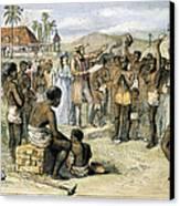 West Indies: Slavery, 1833 Canvas Print by Granger
