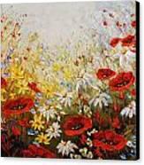 What A Wonderful Day Canvas Print by Irena Sherstyuk