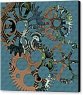 Wheels Canvas Print by Bonnie Bruno