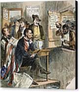 White League, 1874 Canvas Print by Granger