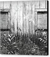 White Windows Canvas Print by Anna Villarreal Garbis