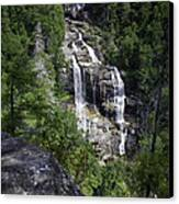 Whitewater Falls Canvas Print by Rob Travis