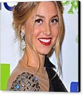 Whitney Port At Arrivals For Vh1 Divas Canvas Print by Everett