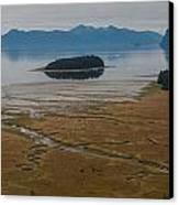 Wild Alaska Coast Canvas Print by Mike Reid