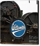 Willamette Steam Engine 7d15104 Canvas Print by Wingsdomain Art and Photography