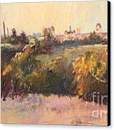 Willesmere From Charitas Canvas Print by Pamela Pretty