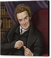 William Wilberforce, British Abolitionist Canvas Print by Maria Platt-evans