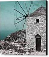 Windmill Canvas Print by Joana Kruse