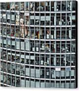 Windows Again, Berlin Canvas Print by Eike Maschewski