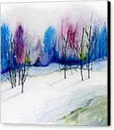 Winter Sorbet Canvas Print by Lynne Furrer