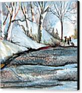 Wisemen Canvas Print by Mindy Newman