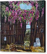 Wisteria Canvas Print by Jan Holman