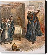 Witch Trial: Tituba, 1692 Canvas Print by Granger