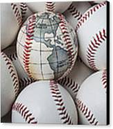 World Baseball Canvas Print by Garry Gay