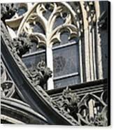 Xanten Cathedral Canvas Print by Arlene Carmel