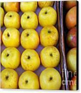 Yellow Apples Canvas Print by Carlos Caetano