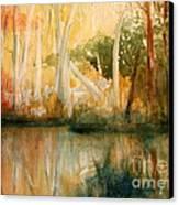 Yellow Medicine Creek 2 Canvas Print by Julie Lueders