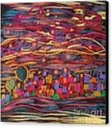 Yiskor Canvas Print by Heather Hennick