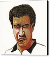 Younes El Aynaoui Canvas Print by Emmanuel Baliyanga