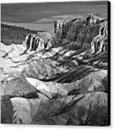 Zabriskie Point Panorama Canvas Print by Jim Chamberlain