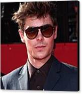 Zac Efron In Attendance For Espns 18th Canvas Print by Everett