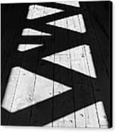 Zigzag  Canvas Print by Luke Moore