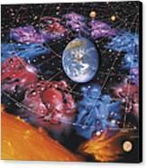 Zodiac Signs Canvas Print by Detlev Van Ravenswaay