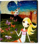 Zodiac Virgo Canvas Print by Laura Bell