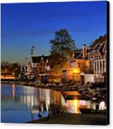 Boathouse Row  Canvas Print by John Greim