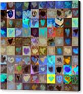 Eight Hundred Series Canvas Print by Boy Sees Hearts