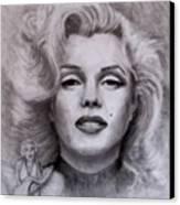 Marilyn Canvas Print by Jack Skinner