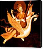 Saraswati 4 Canvas Print by Lanjee Chee