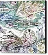 Sea World Canvas Print by Milen Litchkov