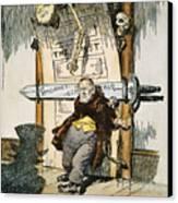 Skeletons Of Malfeasance Canvas Print by Granger