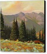 060815-1224  Late Summer Flowers Canvas Print by Kenneth Shanika