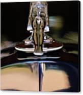 1934 Packard Hood Ornament 3 Canvas Print by Jill Reger