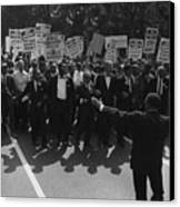 1963 March On Washington. Famous Civil Canvas Print by Everett