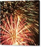 4th Of July Fireworks Canvas Print by Joe Carini - Printscapes