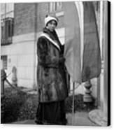 Alice Paul (1885-1977) Canvas Print by Granger