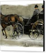 Amish Country Canvas Print by Bob Salo