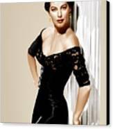Ava Gardner, Ca. 1950s Canvas Print by Everett